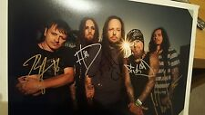 KORN SIGNED PHOTO PHOTOGRAPH LP VINYL RECORD ALBUM OBTAINED IN PERSON PROOF LOOK
