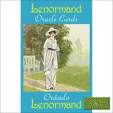Lenormand Oracle Fortune Telling 36 Cards Deck with Multilingual Instructions