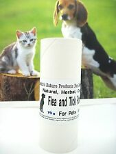 HERBAL FLEA AND TICK POWDER FOR PETS, ORGANIC, ALL NATURAL, 70 GRAM (2.5 OZ)