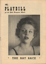 1950 Playbill Garson Kanin's The Rat Race Betty Field Barry Nelson