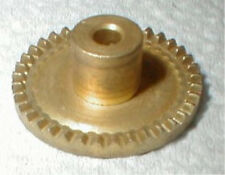"Brass COX CROWN Gear 33 TOOTH  SET SCREW 1/8"" axle NOS Slot Car"