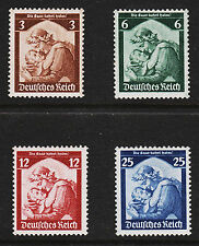 1935 Germany Return of Saar Set Sc#448-451 Mint Never Hinged VF Original Gum