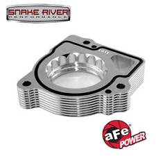 AFE SILVER BULLET THROTTLE BODY SPACERS 2003-07 DODGE RAM 1500 V8 4.7L 46-32004
