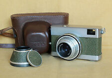 Werra 1 olive German Carl Zeiss Jena 35mm film camera CLA works Zeiss Novonar
