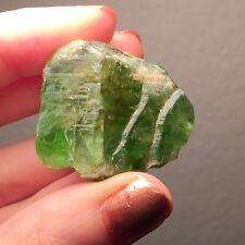 140 Ct. Large Peridot Crystal ~ Kashmir Mountains