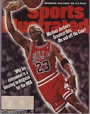 Sports Illustrated 1999 Chicago Bulls Michael Jordan Blank Label NR/Mint