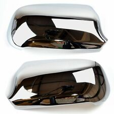 CHROME SET WING DOOR MIRROR COVERS FOR Audi A4 1999-2001 Pair