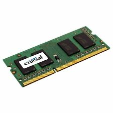 Crucial 4GB DDR3 1333 MHz PC3-10600 1.35V 1.5V Laptop RAM Sodimm Memory 204 pin