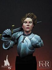 FeR Joan of Arc La Poucelle (2) 2 Head Options 1/12th bust Unpainted resin kit