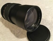 MIRAGE AUTO REFLEX 200mm 1:3.5 PRIME LENS with PENTAX M42 MOUNT has HAZE