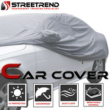4 Layer 100% Waterproof All Weather Car Cover w/Mirror Pocket 4700MM For VW