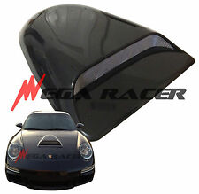 JDM 1Pc Smoke Black HOOD SCOOP Air Flow Vent Cover Sport Universal #s16 Dodge