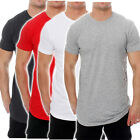 Urban Classics Herren Oversize T-Shirt Round Neck long shaped tee TB638