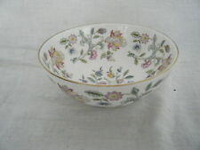 C4 Porcelain Minton Haddon Hall Finger Bowl 14x6.5cm, golden rim 3E3B