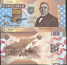 United State Usa. 50 D. 2014 Va Virginia 10th State Polymer Comm. Unc
