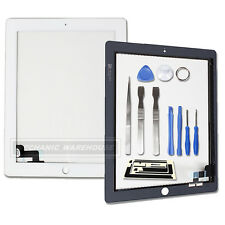 White Replacement Touch Screen Digitizer Front Glass Display For Ipad 2 IPAD2 UK