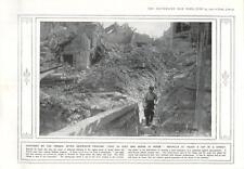 1915 soldats français capturés neuville st vaast village street destruction