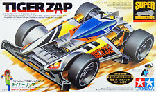 Tamiya 94962 Mini 4WD Tiger Zap Limited Edition with Gold Plated Wheels 1/32