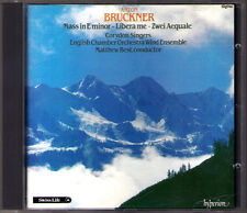 BRUCKNER Messe Mass E Minor 2 Aequalis Libera Me CORYDON SINGERS Matthew Best CD