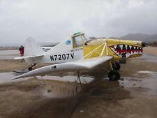 IMCO CallAir A-9 Agricultural Airplane Desktop Wood Model Large