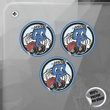 PEGATINA CORKY MR. GASKET ROUNDED VINILO VINYL STICKER DECAL ADESIVI