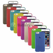 Lot of 10 Genuine Soft Slim Thin Rubber Protector Case Skin for Apple iPhone 7