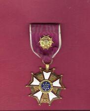WWII Legion of Merit medal Officer Rank RARE LOM