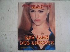 MADONNA rare 2000 SUEDDEUTSCHE cover magazine UNUSUAL photos