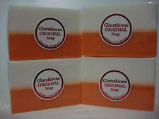 LOT OF 4 GLUTATHIONE ORIGINAL 2 TONE WHITENING SOAP