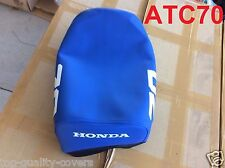 "Honda ATC70 ATC 70 1984-1985 Brand New ""BLUE"" SEAT COVER. HIGH QUALITY"