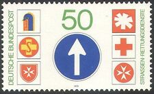 Germany 1979 Red Cross/Rescue Services/Road Transport/Motoring 1v (n29753)