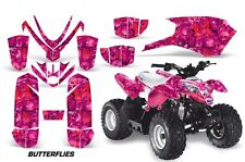 Polaris Outlaw 50 AMR Racing Graphic Kit Wrap Quad Decal ATV All Years BFLY RED