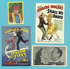 Fred Astaire Dance Actor Fab Card Collection American singer C Ginger Rogers