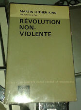 LUTHER KING Martin. Révolution non-violente. Payot. 1968.