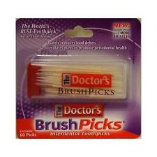 Brush Picks The Doctor's BrushPicks - Interdental Toothpicks - 60 ct (Good Deal)
