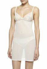 La Perla Rosa Collection XS Short Gown Chemise Slip Bridal Ivory Italian 1 New