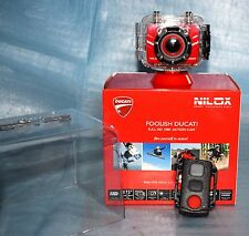 Caméra Nilox Foolish Ducati 1080 Full HD Action cam rouge