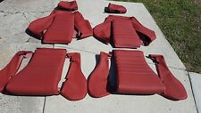 RECARO MK2 GOLF SEAT KIT (2) UPHOLSTERY KIT BEAUTIFUL KIT LEATHER