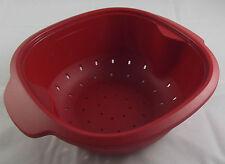 Tupperware warmietup warmie tup passoire panier 2,25 L rouge nouveau OVP