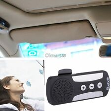 Car Wireless Bluetooth Multipoint Handsfree Speakerphone Kit For Mobile Phone OK