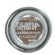 Maybelline Color Tattoo 24Hr leather effect Eye shadow chocolate suede sealed