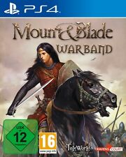 Playstation 4 Mount and Blade Warband Sehr guter Zustand