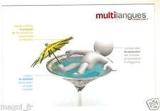 Publicité - cpsm - MULTILANGUES (H6540)