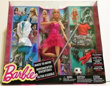 Barbie Made to Move Doll with Fashion Accessories