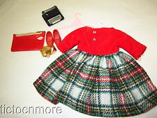 VINTAGE IDEAL TAMMY FAMILY FASHIONS DOLL CLOTHES SCHOOL DAZE #9133-0 DRESS BELT