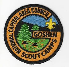 BOY SCOUT   GOSHEN SCOUT CAMPS  GB PP   NAT CAP A.C.    DC