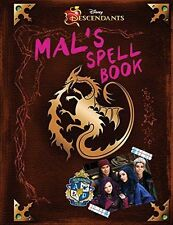 Descendants: Mal's Spell Book by Disney Book Group (Hardcover) New Free Shipping