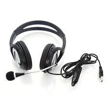 OV-Q2 USB Computer Stereo Headphone with Microphone for PC Laptop Notebook
