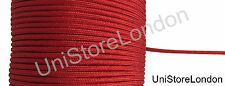 Cord Lace Piping Round Uniform Rank Braid Red Mylar 4 mm Sold by Meter R1478