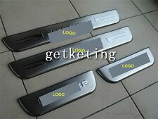 4 Pieces Stainless Steel Door Scuff Sill Plates Aluminium For Kia SPORTAGE 2011
